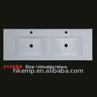EMP new design bathroom ceramic cabinet wash basin 9120ED