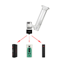 G9 510 Nail vapes fit with box mod enail dab Greenlightvapes 510Nail