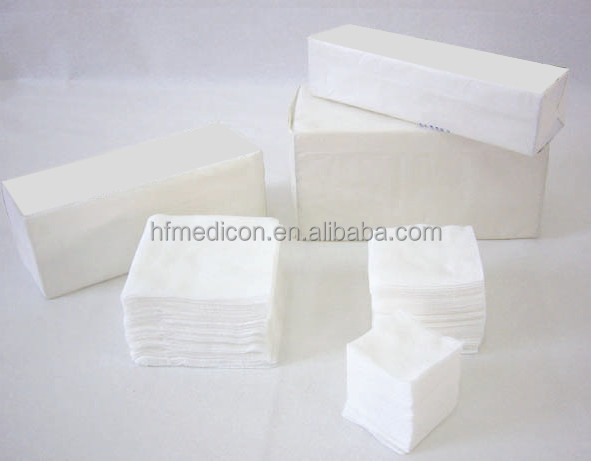 Manufacture disposable medical non woven sponge