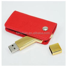 Money bag leather usb2.0,USB FLASH DRIVE,OEM twist leather usb