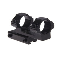 Funpowerland One Piece Cantilever 11mm Dovetail Rifle Gun Scope Sight Mount Base 25mm Rings
