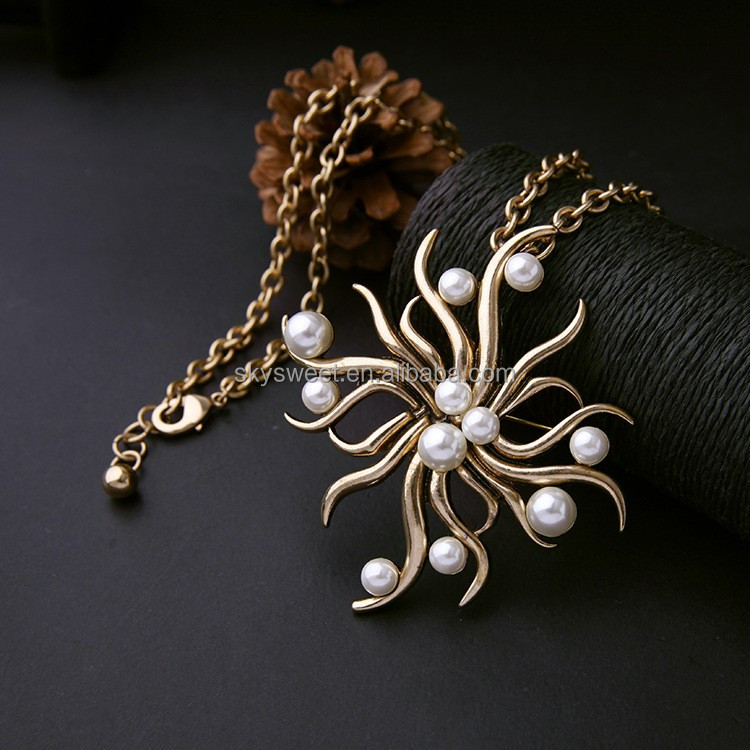 2016 Fashion Pendant Jewelry Pearl Necklace