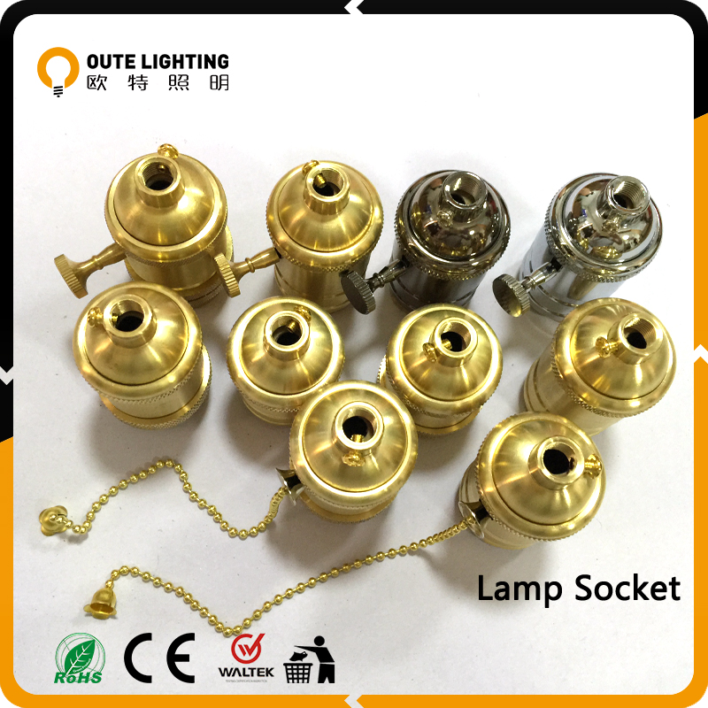 Vintage pendant lighting accessories lamp holder fitting accessory socket E27