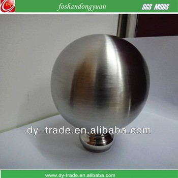 100mm stainless steel brushed spheres
