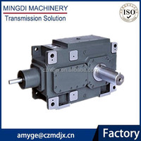 MINGDI Brand Cylindrical transmission variator / gear speed reducer with electric motor