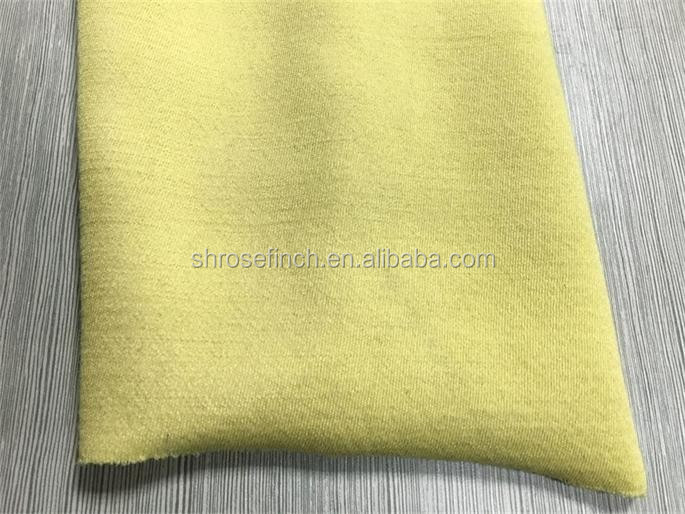 380gsm Para-aramid fiberglass cut proof fabric puncture resistant fabric industry workwear glove fabric