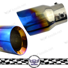 Exhaust Pipe Type car oval exhaust muffler tail pipe
