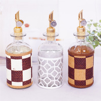 glass cooking oil storage bottle
