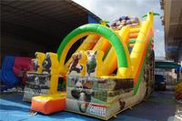 lilytoys cheap The New big inflatable land slides for sale