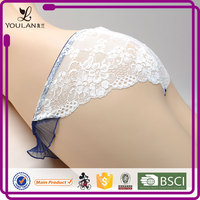 2015 New Product Sweet Young Lady Bowknot Hot Asian Girls G-String