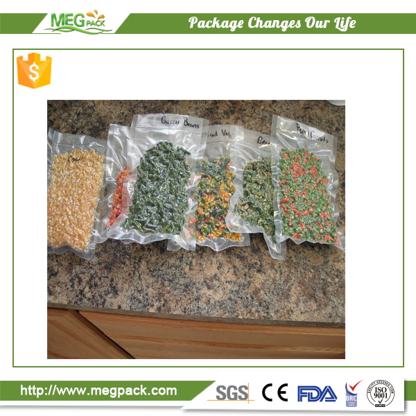 Vacuum sealer Compression Zipper Packaging Bag for Storage Food