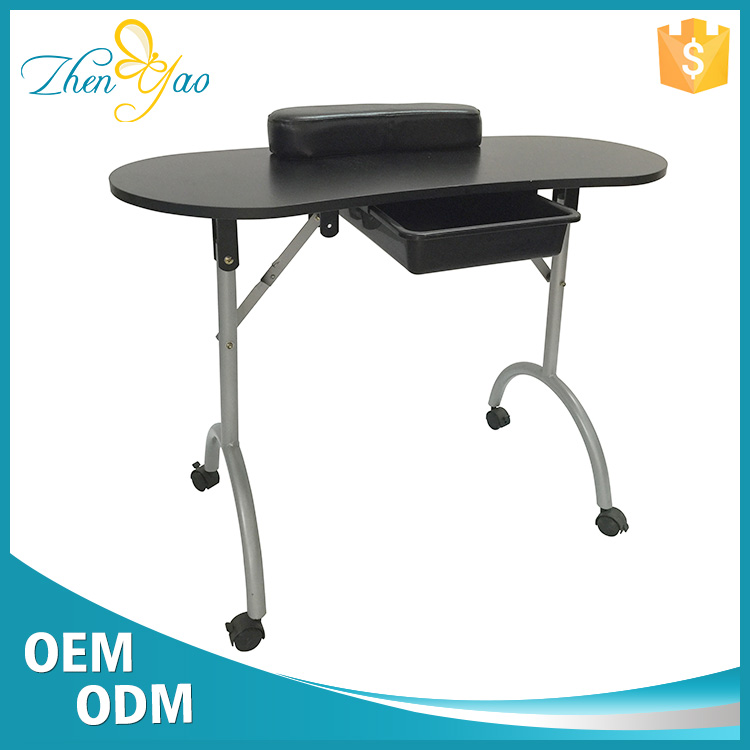 Nail Supply And Beauty Salon Modern MDF Manicure Table With Drawer