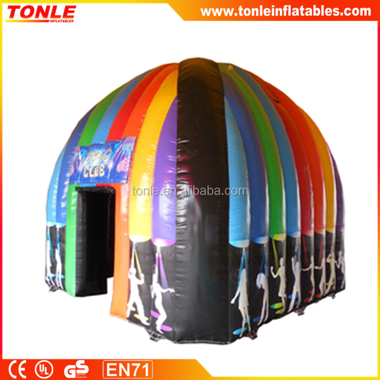 outdoor inflatable Disco Cube Tent for sale