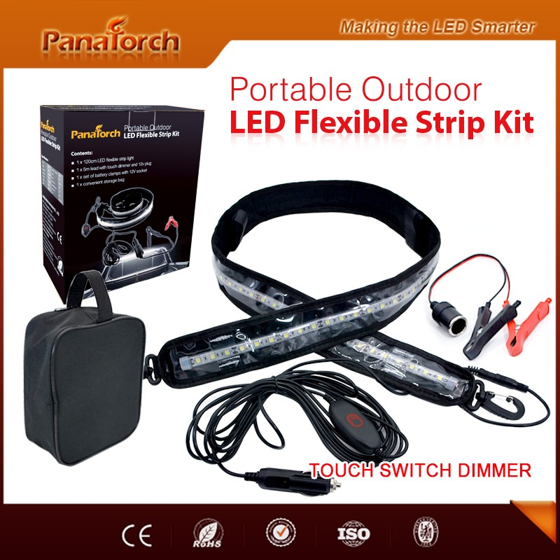 PanaTorch Hot selling Camping Led Flexible Strip Kit PS-F3572A China manufacture For outdoor lighting