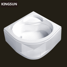 K4403A Bathroo Irregular Deep White Acrylic Tray, Shower Waste Traps, Shower Pan