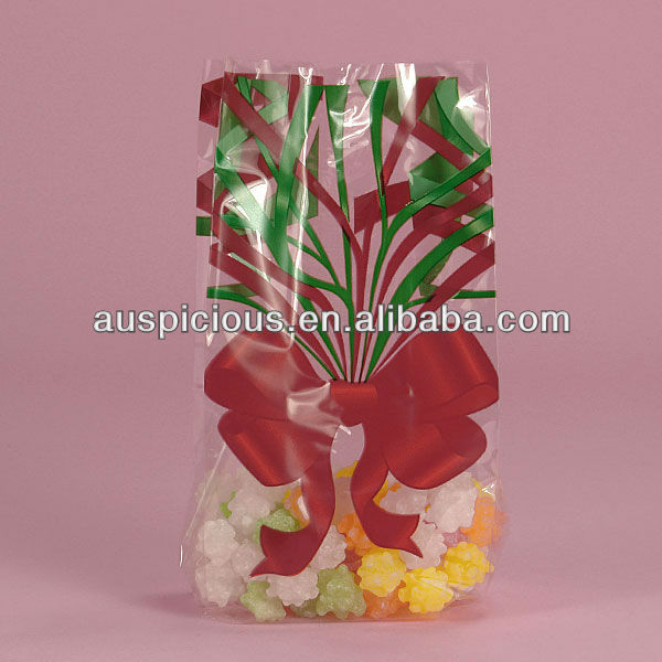 Food grade cello pp candy plastic bags