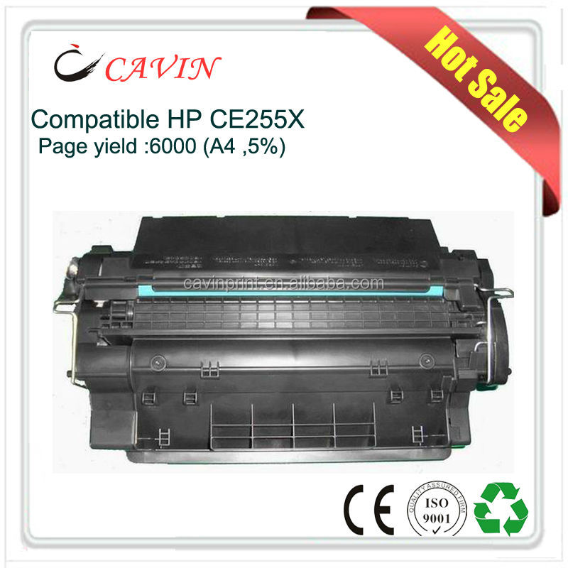 Hot sale OEM Quality toner cartridge CE255AX for HP laser printers