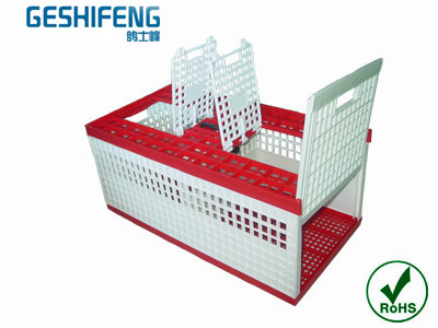 Wholesale Plastic folding pigeon cage transport pigeon cage cage for bird