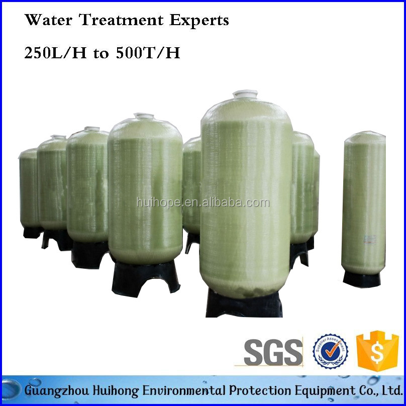Big Capacity Water Treatment RO Pressure Vessel FRP Sand Filter