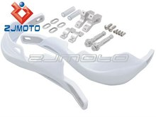 "ZJMOTO Motorcycle Motocross Dirtbike MX ATV Plastic Hand Guards For 7/8"" Handlebar Motorcycle"