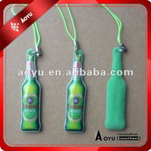3D bottle shape mobile phone cleaner with customized logo