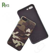 Free sample mobile phone cover,High quality camouflage pattern soft tpu case for iPhone 8