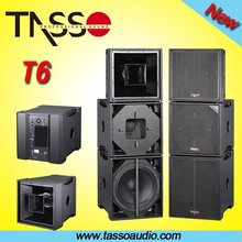 TASSO Active speaker RCF audio Touring Sound speakers system