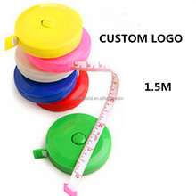 Novelties Wholesale China 1.5 meters mini fiber tailor tape measure