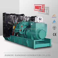 1000kw electric diesel power generator set with Googol engine , 1 MW diesel power generator price