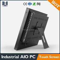 industrial touch screen panel pc linux 19 inch all in one computer pc with IR touch screen