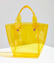 Clear Mini PVC Tote Bag.