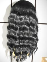 Synthetic full lace wig