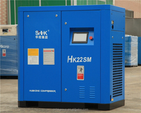 30HP rotary screw air compressor (belt driven)