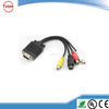 6 ft VGA to 3-RCA Component Cable For PC HDTV