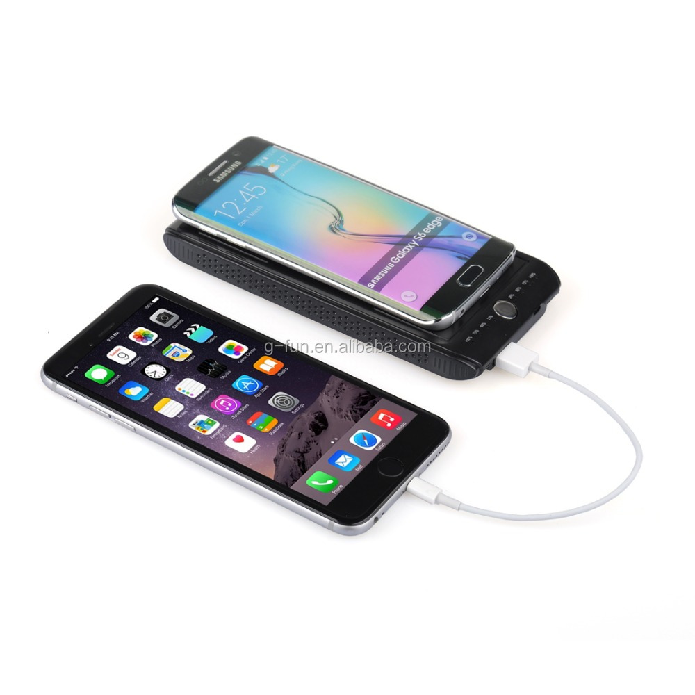 Universal Portable QI Standard Wireless Phone Charger Power Bank for Samsung Galaxy S7/S6/Edge/Edge Plus/Active/Note 5