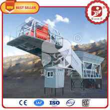 Water proof Best Selling Wet Mix 20M3/H Mobile Concrete Batch Plant for sale with CE approved