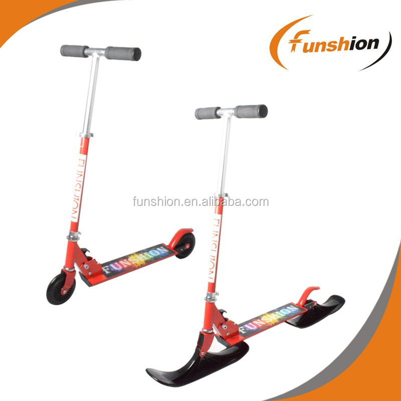 2016 New style high quality kids kick snow scooter price