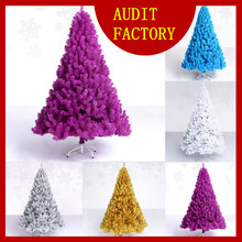 Popular Personalized 2016 Christmas Decoration christmas tree with rainbow