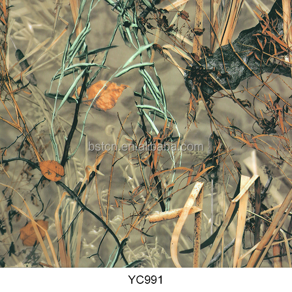 HOT SALE HYDROGRAPHIC FILM FOR HYDRO DIPPING WATER TRANSFER FILM MARSH MAX CAMO FOR GUN ATV CUP SURFACE TREATMENT
