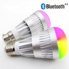 Newest functional touch control Sensor smart Wireless bulb led light bluetooth speaker
