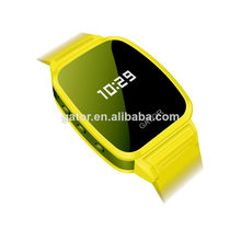 SOS Feature simple mobile watch phone GSM+GPS+LBS location Long standby time SOS gps talking watch ---Caref watch