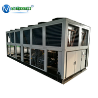 Waterproof 80 HP 60 Tr Air Cooled Industrial Sulfuric Acid Water Chiller System
