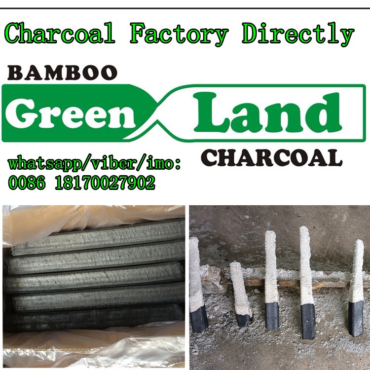 original green land bamboo charcoal for shisha not off white ash for iran