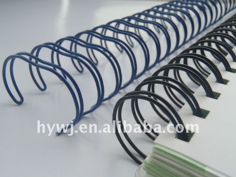 "silver 1/4"" wire o binding nylon coated iron wire"