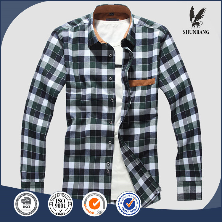 Wholesale european plaid flannel cheap check shirts mens for Where to buy cheap plaid shirts