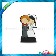 High quality bride and groom USB flash drive with logo