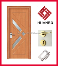 New Design Interior MDF PVC Wood Doors for rooms