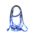PVC Snaffle Bridle Head with Rein, Free Size & Full Colors, Stainless Steel Fittings