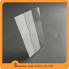 Wholesale picture holder 1mm clear 2x6 pvc photo booth frame