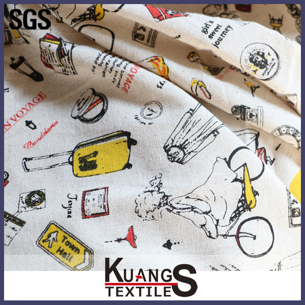 textiles 60% cotton 40% polyester t-shirts fabric